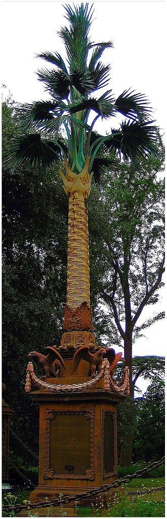 Christopher Werner - Image: Palmetto Regiment Monument tree
