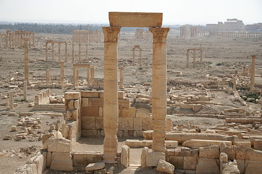 Palmyra seen from west