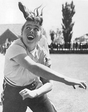 Pamela Kurrell - Kurrell at the 1956 Olympics