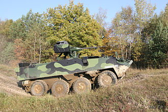 Patria case - Pandur II is produced by Steyr-Daimler-Puch Spezialfahrzeuge, part of General Dynamics European Land Combat Systems, which is also the parent company of MOWAG of Switzerland and Santa Bárbara Sistemas of Spain.