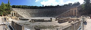 Ancient Theatre of Epidaurus - Panorama - Theatre of Epidaurus