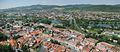 Panorama to Trenčín, Slovakia from the castle.jpg