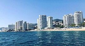 Skyline von Acapulco