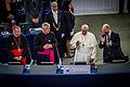 Pape François Parlement européen Strasbourg 25 nov 2014 25.jpg
