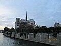 Paris Notre-Dame cathedral from Pont de l'Archevêché 2014-10-05.jpg