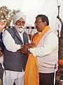 Parkash Chand Garg with Sardar Naurang Singh Zaildar.jpg