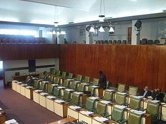 Jamaica - Inside the Jamaican Parliament