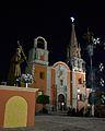 Parroquia de Romita, Guanajuato de noche.JPG
