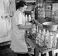 Parsonage Farm- Dairy Farming in Devon, England, 1942 D10218.jpg