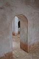 Pas entre sales dels banys àrabs de Torres Torres.JPG