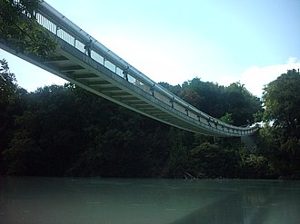 Vernier, Switzerland - Lignon Footbridge