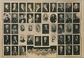 Past masters, St Paul's Lodge, 374, ERmontage of 36 photographs (HS85-10-25525).jpg