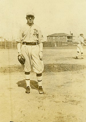 Pat Martin (baseball) - Pat Martin Philadelphia A's 1919-1920.