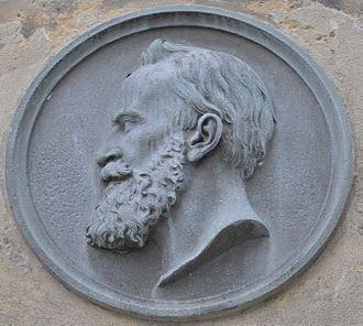 Paul Emil Jacobs - Paul-Emil-Jacobs, Stele in Gotha (detail)
