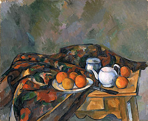 Still Life with Teapot - Image: Paul Cézanne, Still Life With Teapot