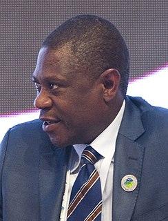 Paul Mashatile South African politician
