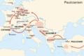 Paulicianism and Europe. Armenian - Պաւղիկեաններ.png
