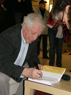 Pavel Bobek - Bobek at a book signing in March 2009.
