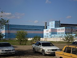 Pavlodar Tracktor Factory, new buildings.JPG