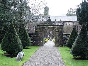 Gwydir Castle - The yew walk