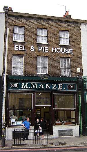 Peckham - Manze's Eel and Pie House, Peckham.