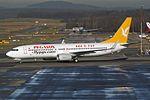 """Pegasus Airlines Boeing 737-82R TC-AAE """"Hayırlı"""" (26929260994).jpg"""