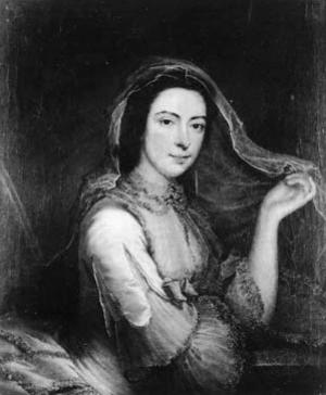 Penelope Carwardine - A portrait of Carwardine by Thomas Bardwell