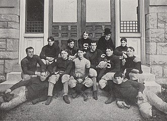 1897 Penn State Nittany Lions football team - Image: Penn State Football 1897