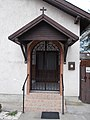 Pentecostal house of prayer, door, 2019 Isaszeg.jpg