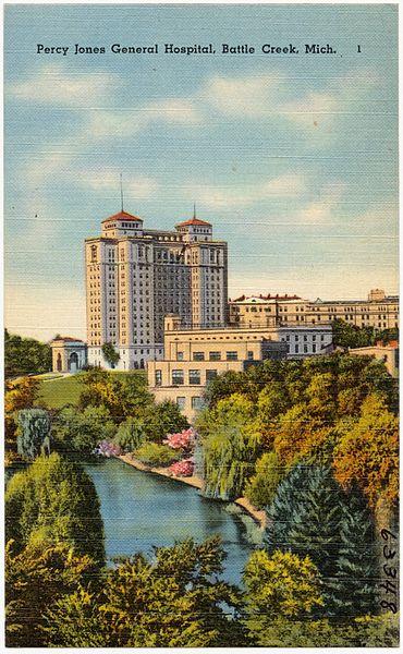 File:Percy Jones General Hospital, Battle Creek, Mich (63348).jpg