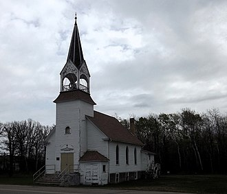 Clearwater Evangelical Lutheran Church - The church viewed from the southwest
