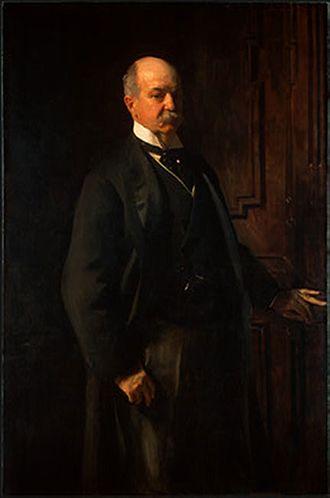 Peter Arrell Browne Widener - Portrait of Widener by John Singer Sargent, 1902