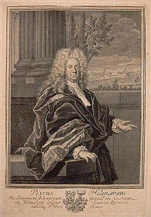 Peter Hohmann um 1710 (Quelle: Wikimedia)