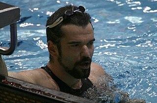 Peter Mankoč swimmer
