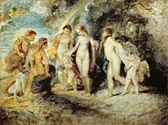 Peter Paul Rubens - The Judgement of Paris - WGA20277