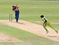 Petersen bowled for a duck by Mohammad Asif.jpg