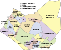 What is the postal code of Pasig City Philippines?