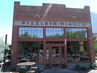 Pizzeria Bianco Pizza restaurant in downtown Phoenix