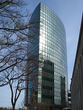 Downtown Hartford - Image: Phoenix Mutual Life Insurance Building, Hartford CT edge
