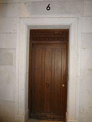 Photography by David Adam Kess, España, Aranda de Duero, Hand Carved Wooden Door, pic.bbb1.jpg