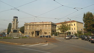 Quartiere Varesina - Piazzale Santorre di Santarosa