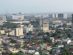 Pasay - Aerial view of Pasay