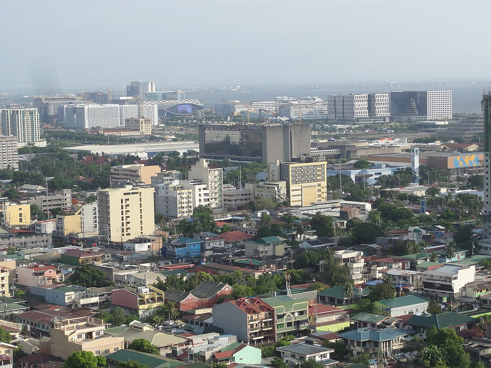 Aerial view of Pasay