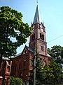 Piekary Śląskie, Kościół Matki Bożej Wspomożenia Wiernych w Dąbrówce Wielkiej 01.JPG