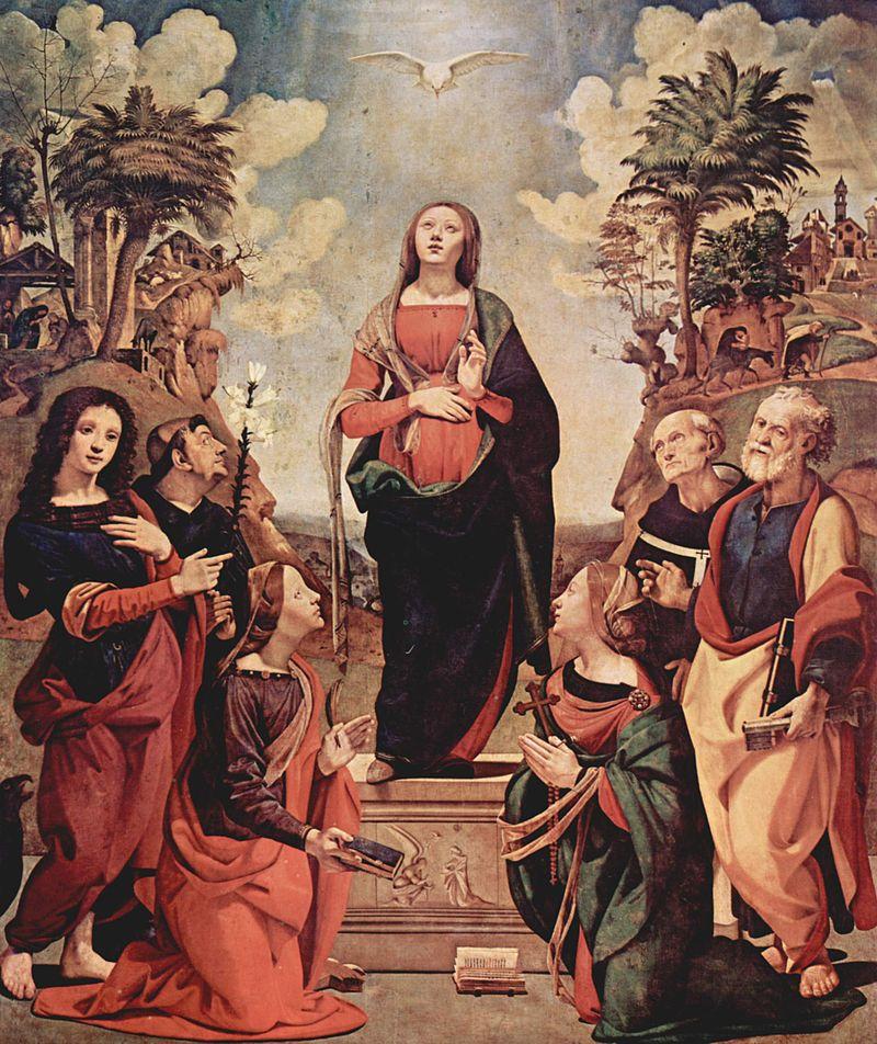 (Imaculada Conceição - Piero di Cosimo, 1505)