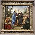 Piero di cosimo, visitazione con i santi nicola e antonio abate, 1490 circa.JPG