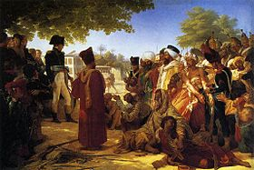 Pierre-Narcisse Guérin Napoleon Pardoning the Rebels at Cairo.jpeg
