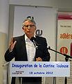 Pierre Cohen à l'inauguration de la Cantine de Toulouse 02.jpg