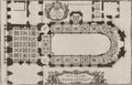 Pierre Lepautre - Plan de la tribune de la chapelle royale de Versailles, circa 1725.png