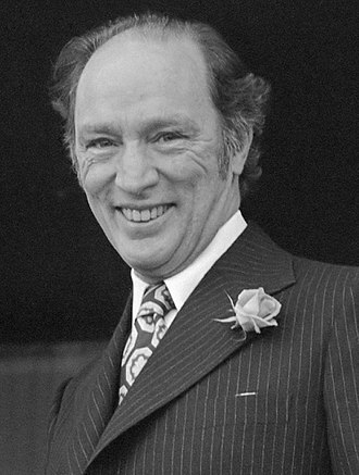 1972 Canadian federal election - Image: Pierre Trudeau (1975) cropped